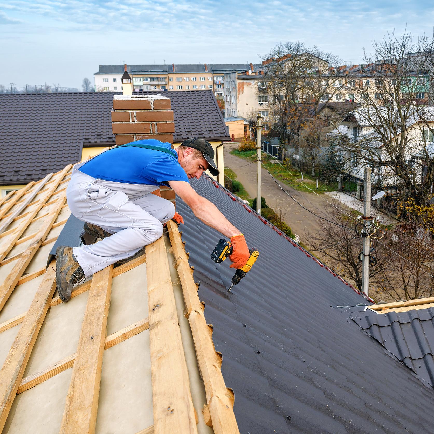 roof installation process